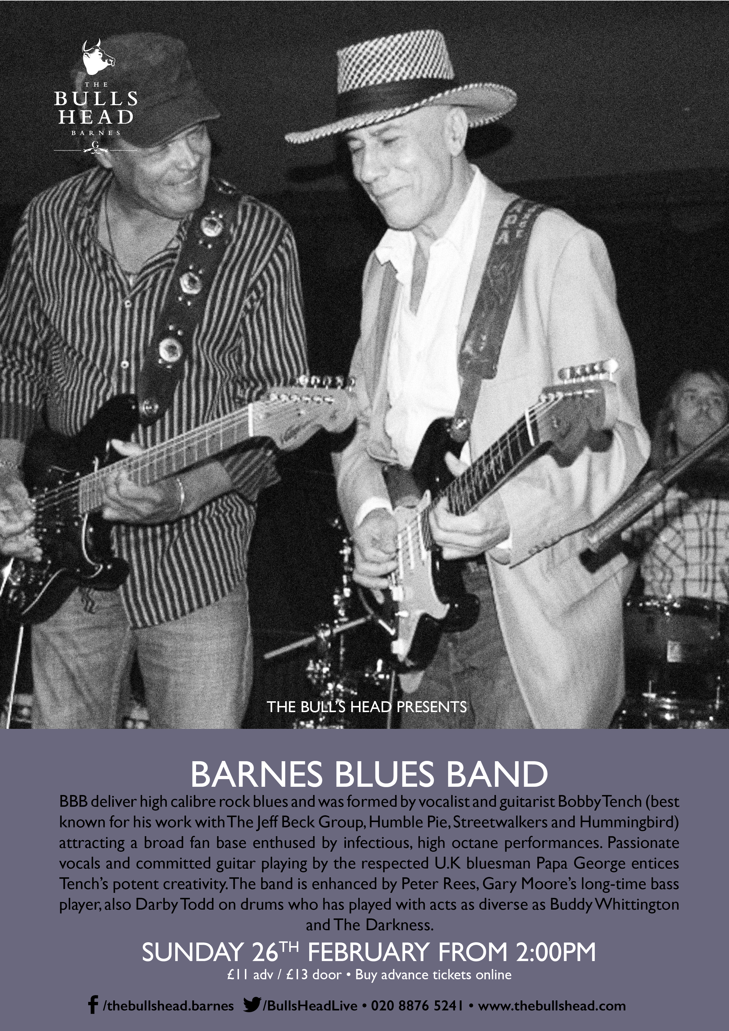 Barnes Blues Band Play The Lunchtime Session