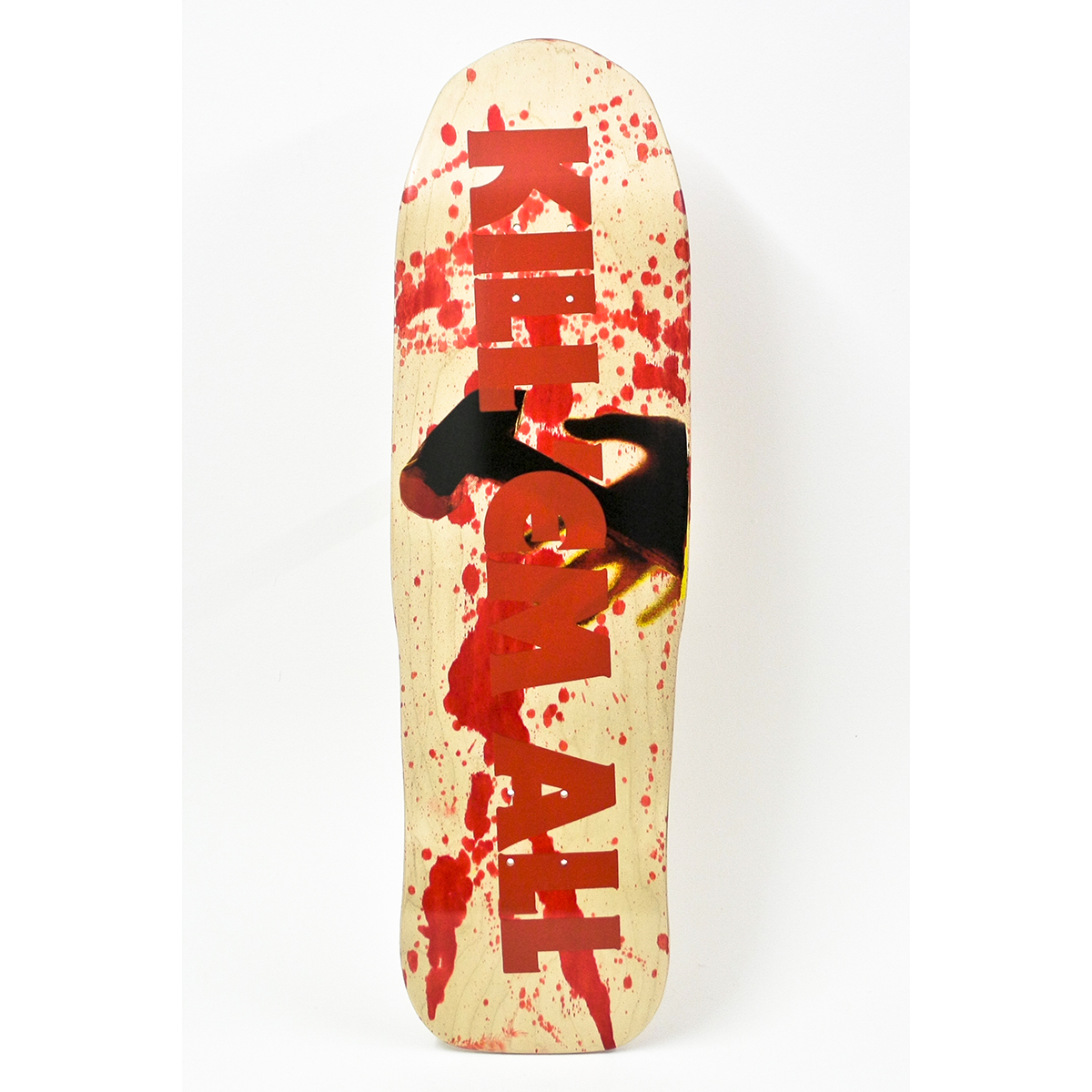 Kill Em All Blood Splatter – Zorlove Skateboard - Metallica