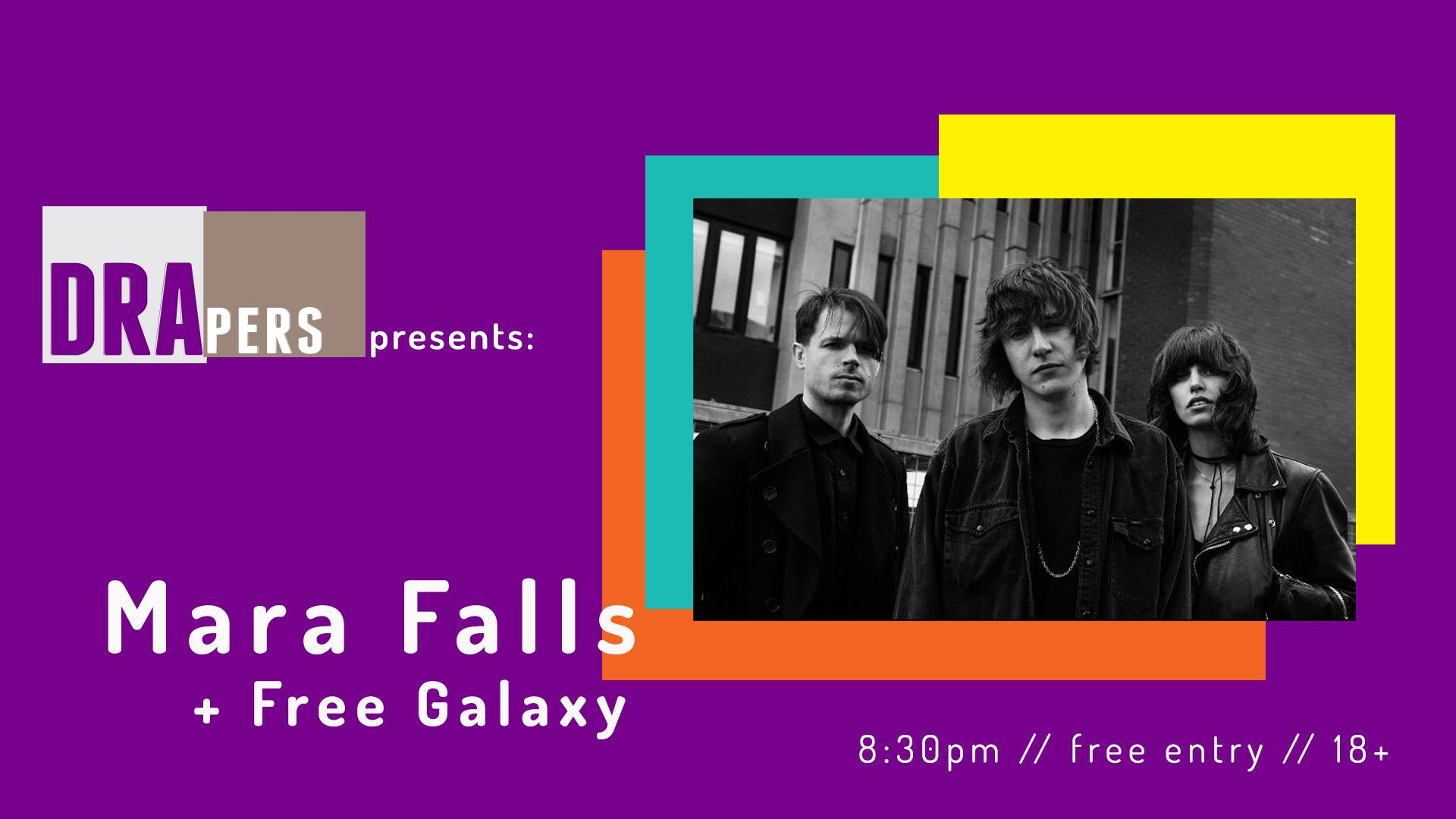 Mara Falls headline show @ Drapers Bar, Coventry - 25th August 2018