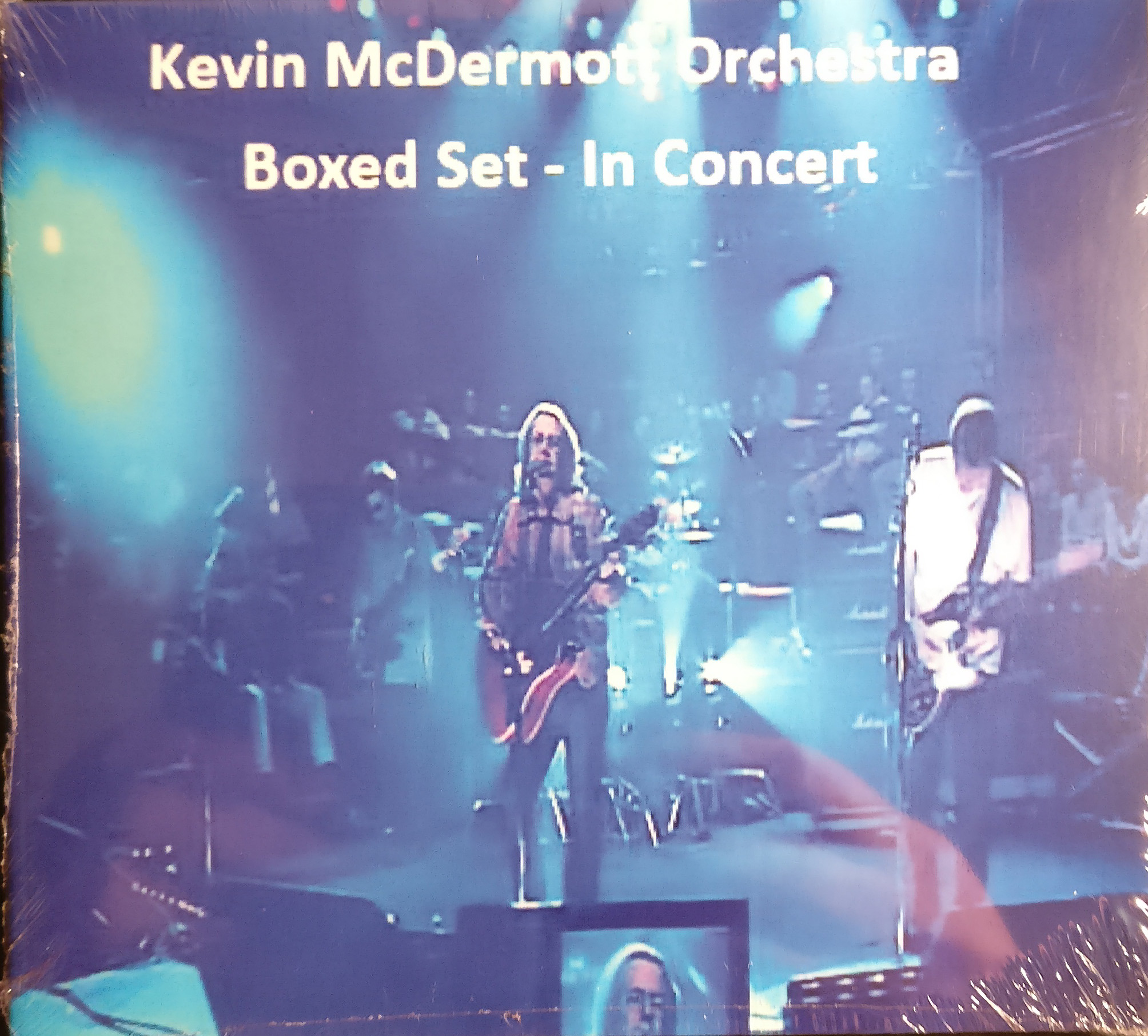 Live DVD & CD - Kevin McDermott Orchestra Live on Boxed Set - Kevin McDermott