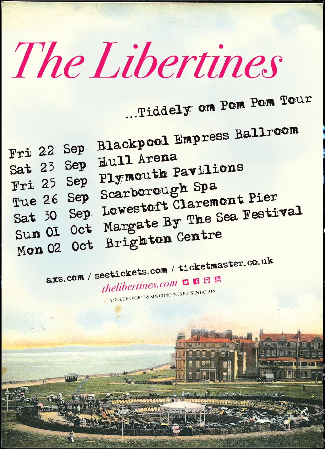 Tiddely Om Pom Pom Poster (SALE) - The Libertines