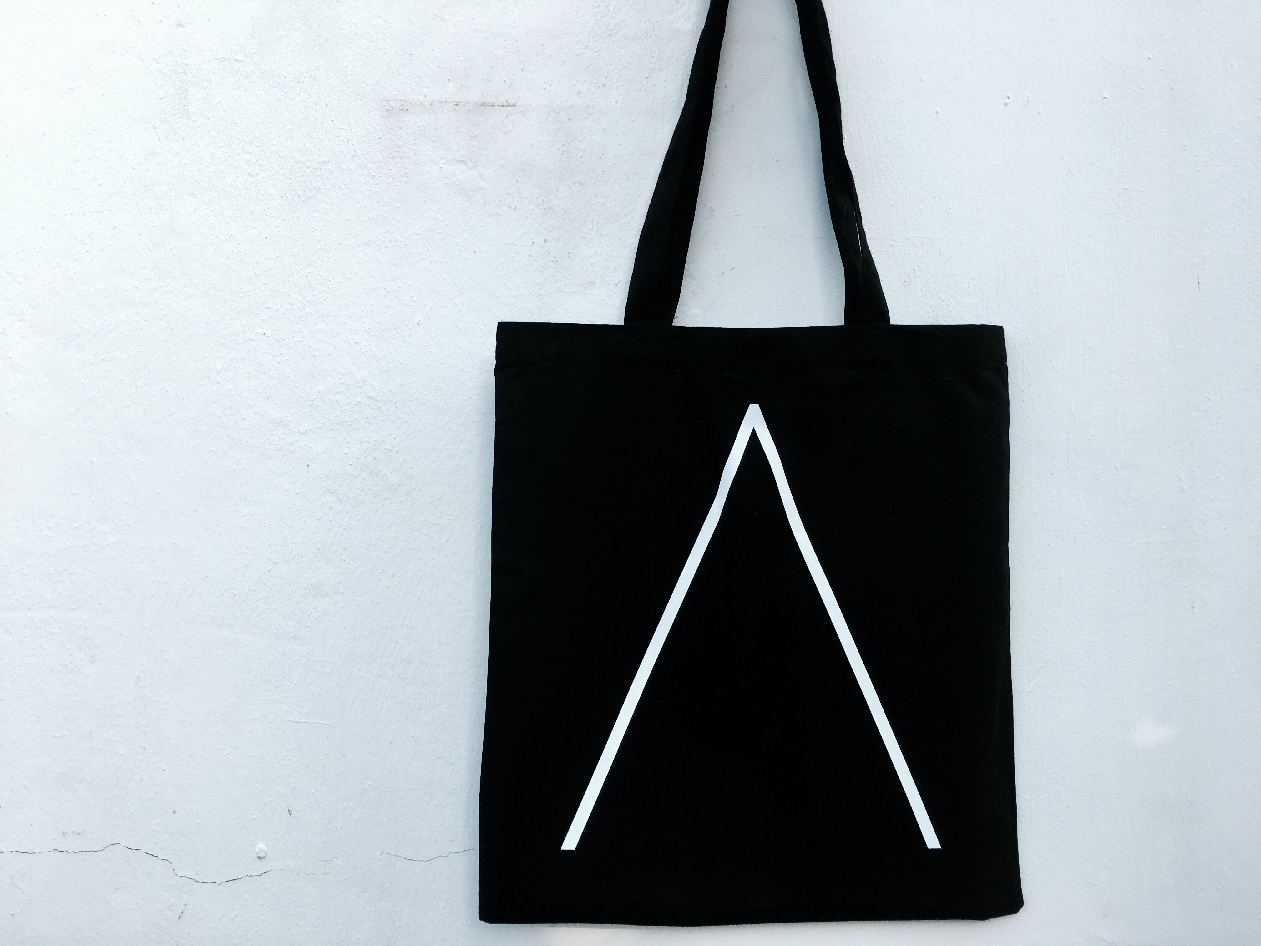 'Λ' Tote Bag [Black] - Alpines
