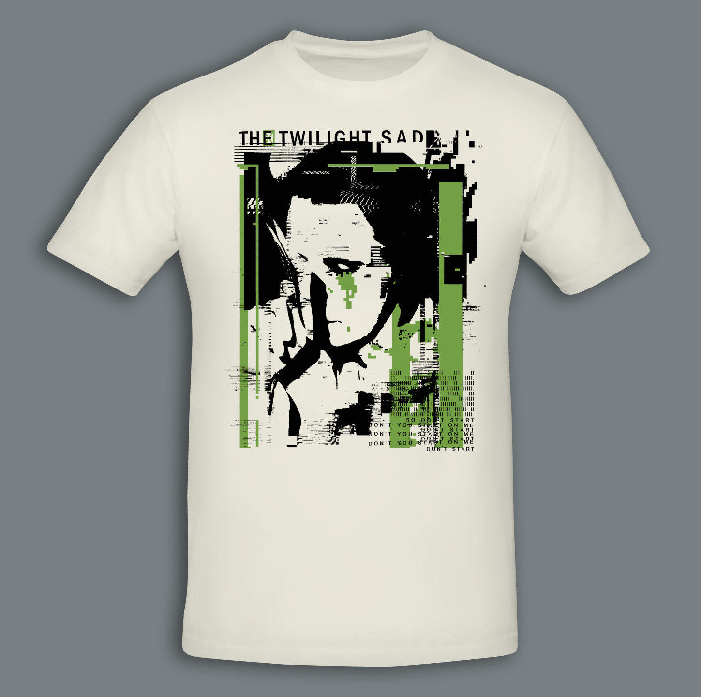 Videograms Cream T-Shirt - The Twilight Sad