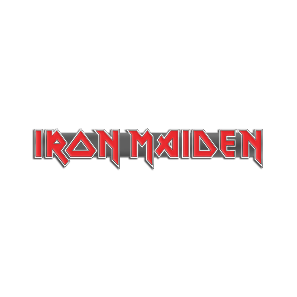 Iron Maiden Logo Pin - Iron Maiden [Global USA]