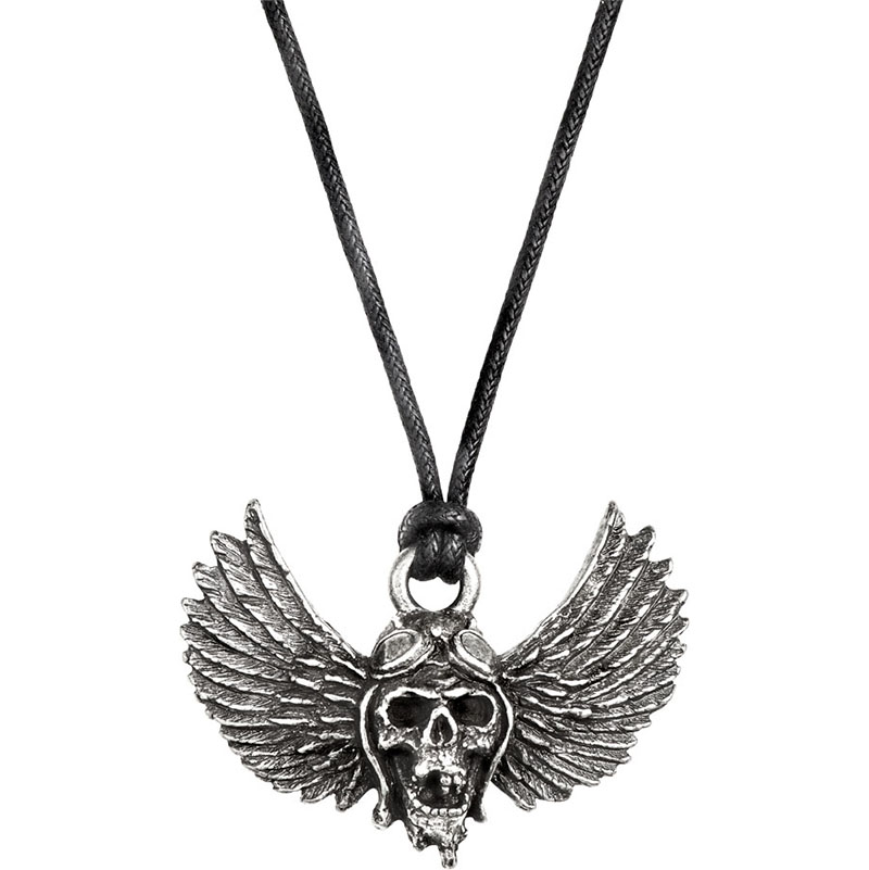 Airbourne - Skull Wings – Pewter Pendant - Airbourne