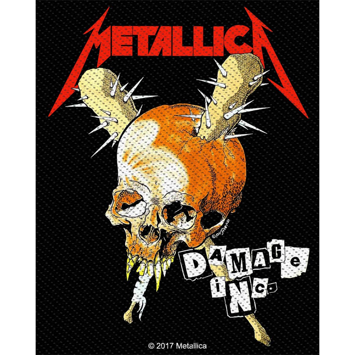 Damage Inc – Woven Patch - Metallica