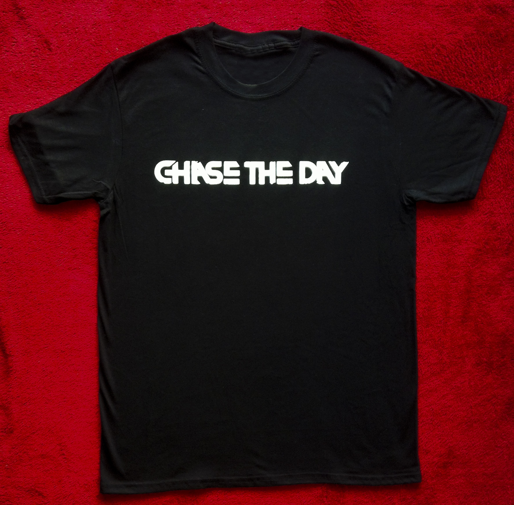 Logo T Shirt - Black - Chase the Day