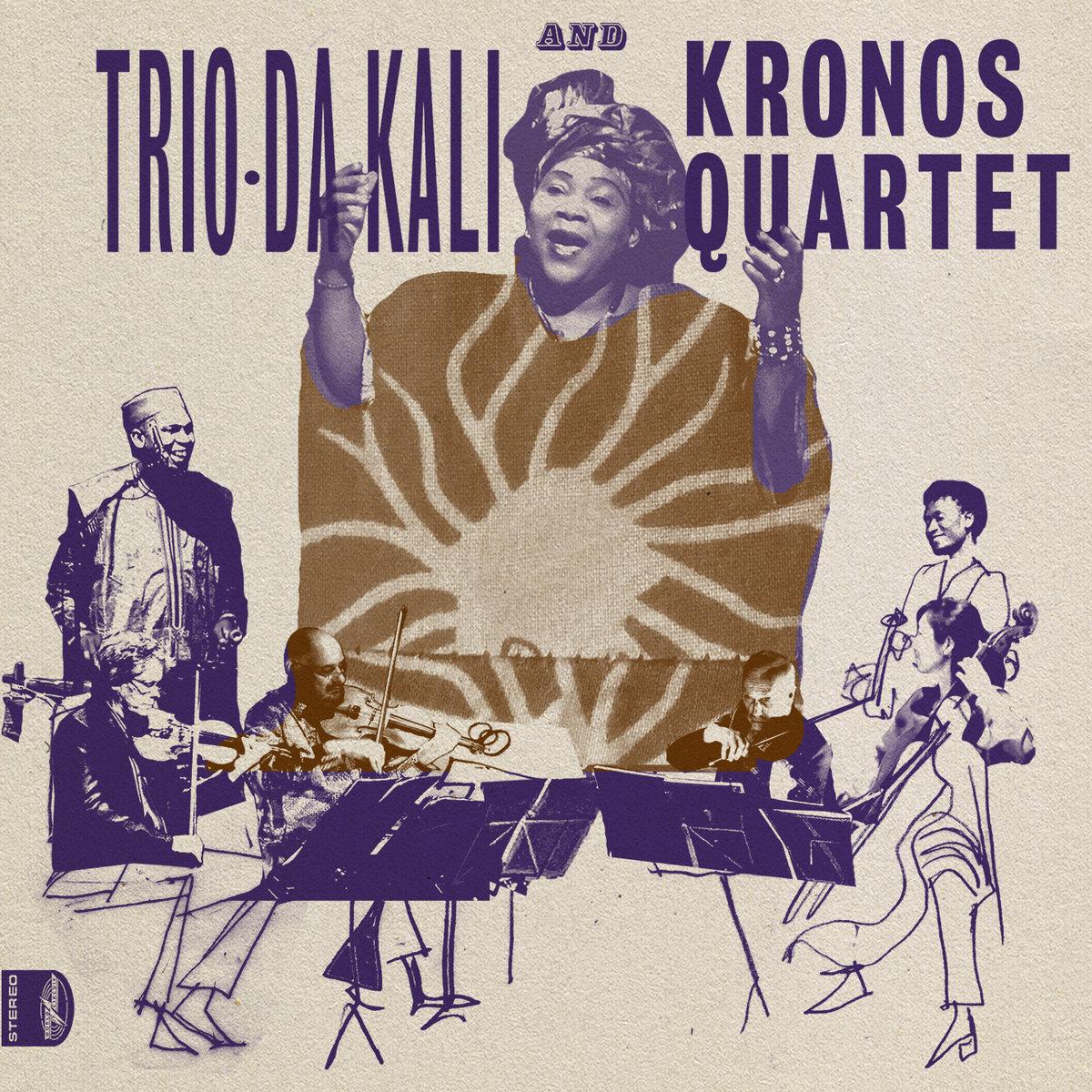 Trio Da Kali and Kronos Quartet - Ladilikan (LP) - World Circuit Records