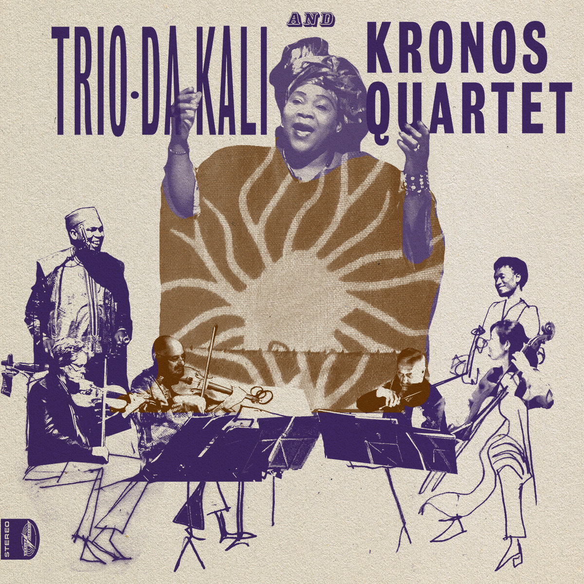 Trio Da Kali and Kronos Quartet - Ladilikan (CD) - World Circuit Records