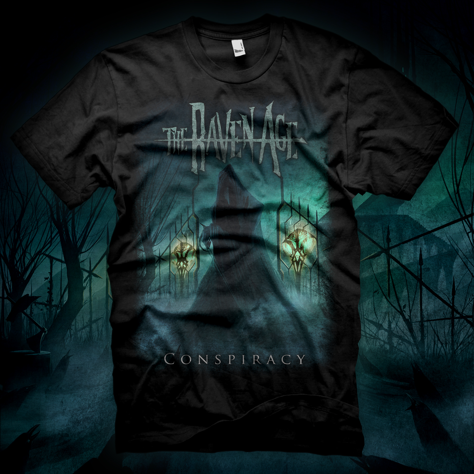 Conspiracy - T-Shirt - The Raven Age