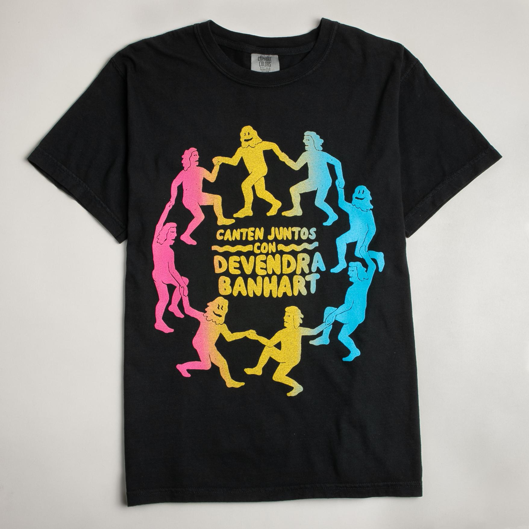 Circle Dance Shirt Rainbow - Devendra Banhart