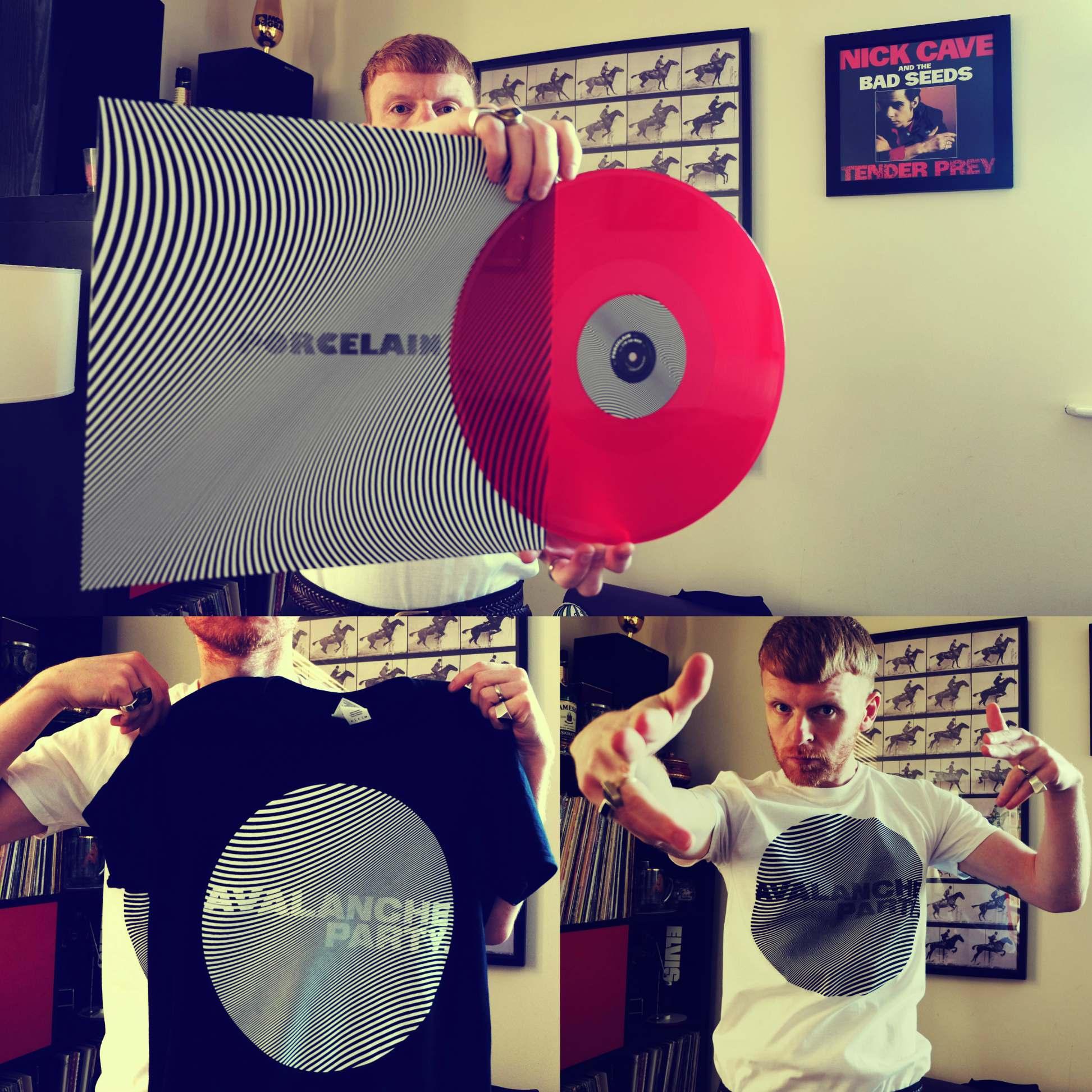 AVALANCHE PARTY VINYL + T [BUNDLE] - Clue Records