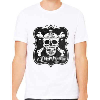 Lust White T-Shirt (SALE) - The Libertines