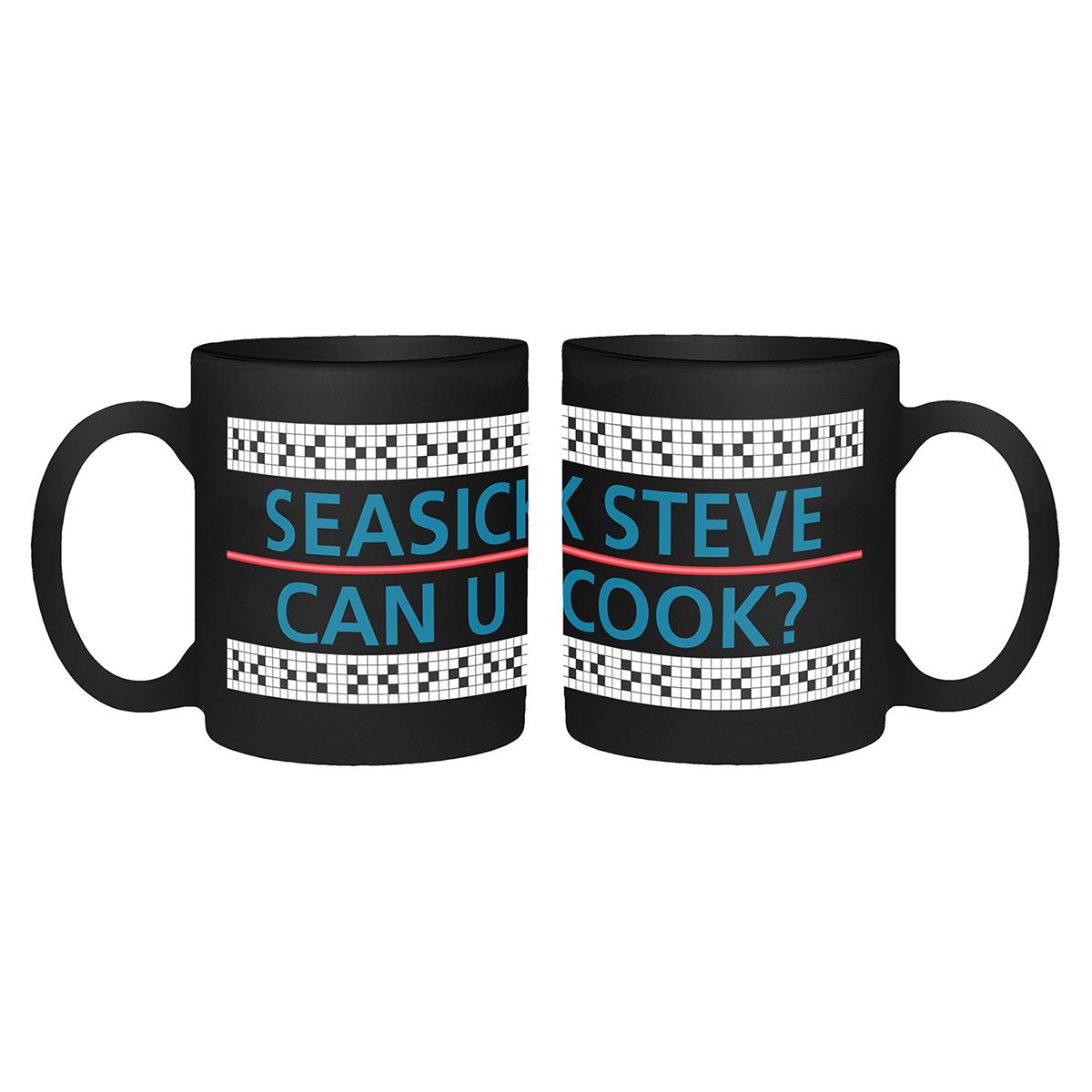 Can You Cook - Black Mug - Seasick Steve
