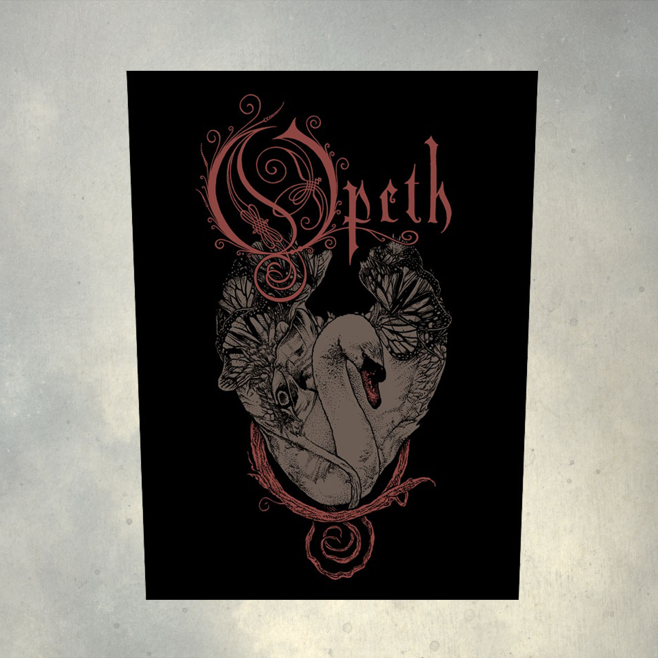 Opeth - 'Swan' Back Patch - Opeth