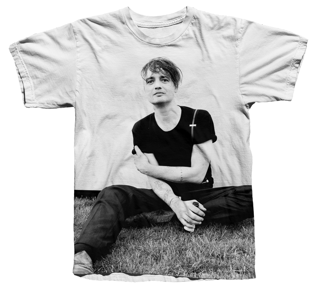 'Leaves On The Lawn' T Shirt - Peter Doherty
