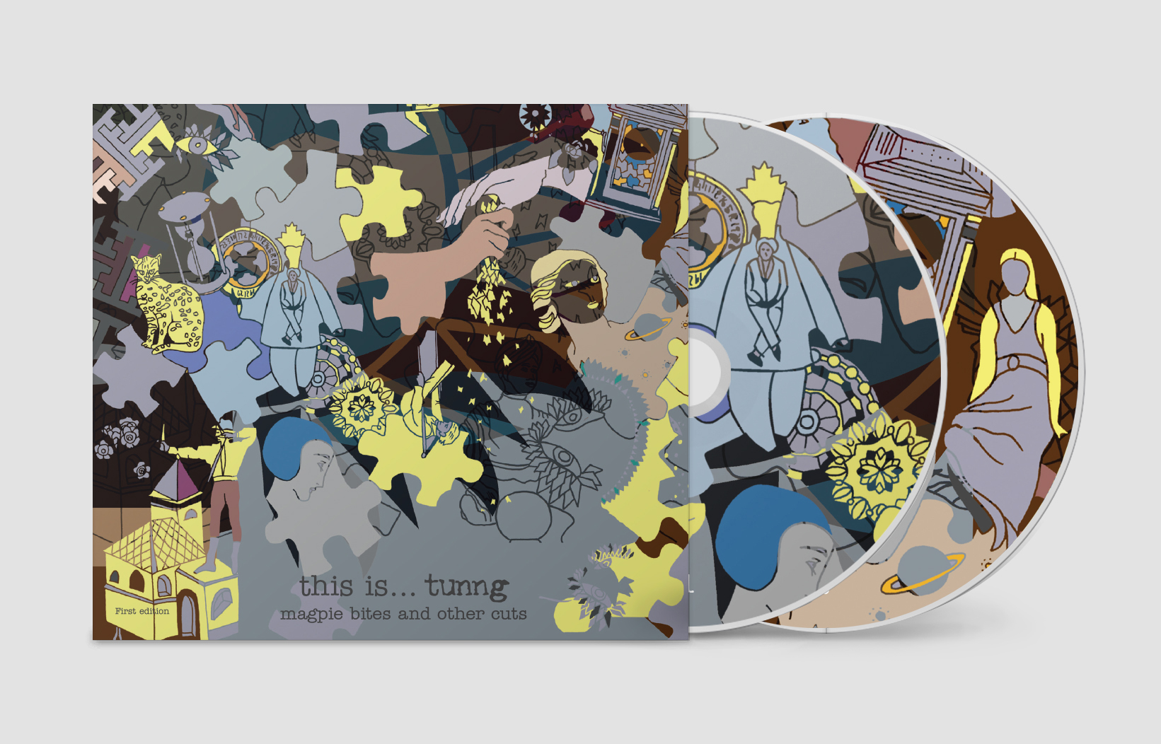 this is tunng...magpie bites and other cuts (2xCD) - Tunng