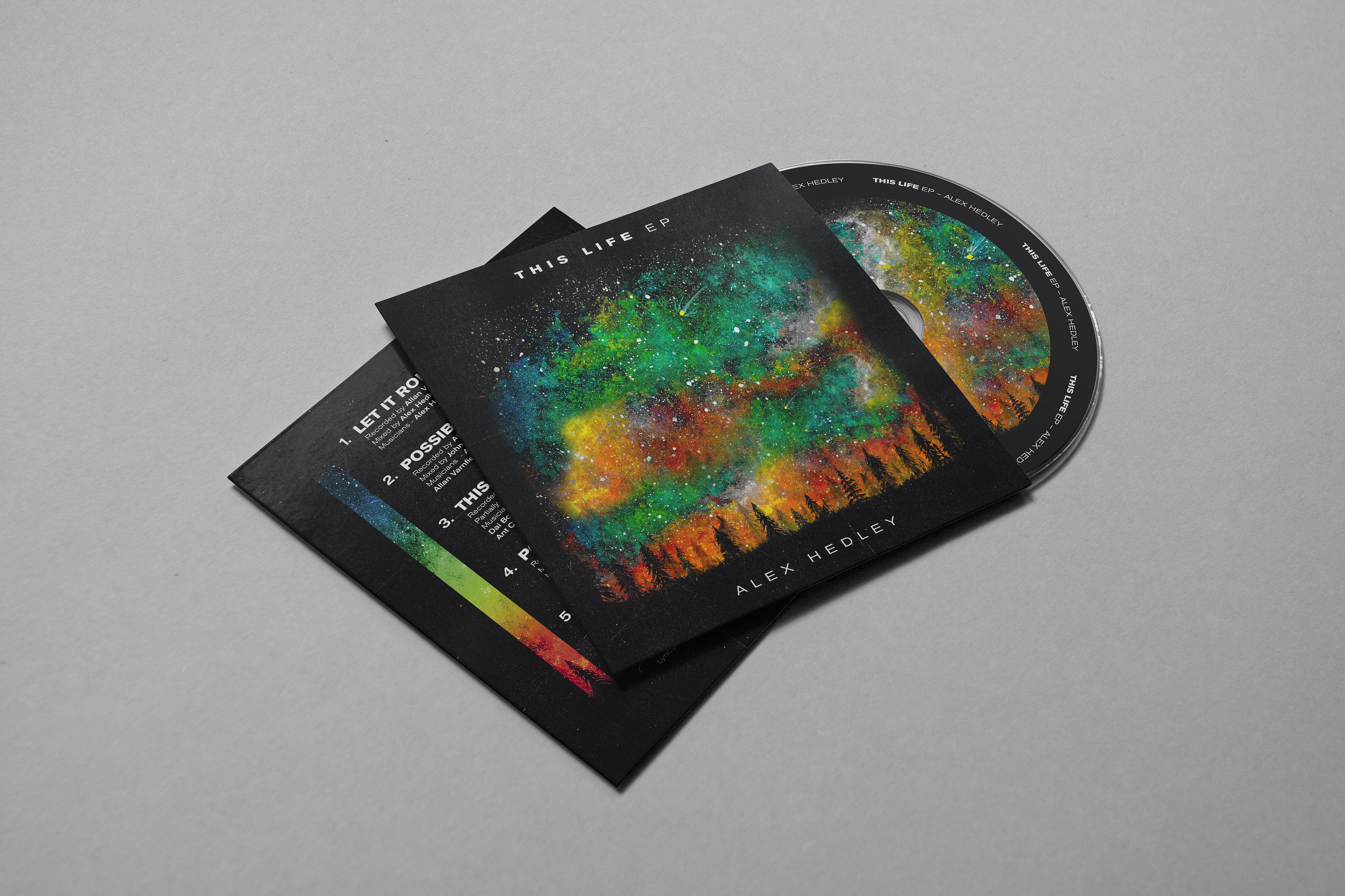 This Life EP - Physical CD - Alex Hedley