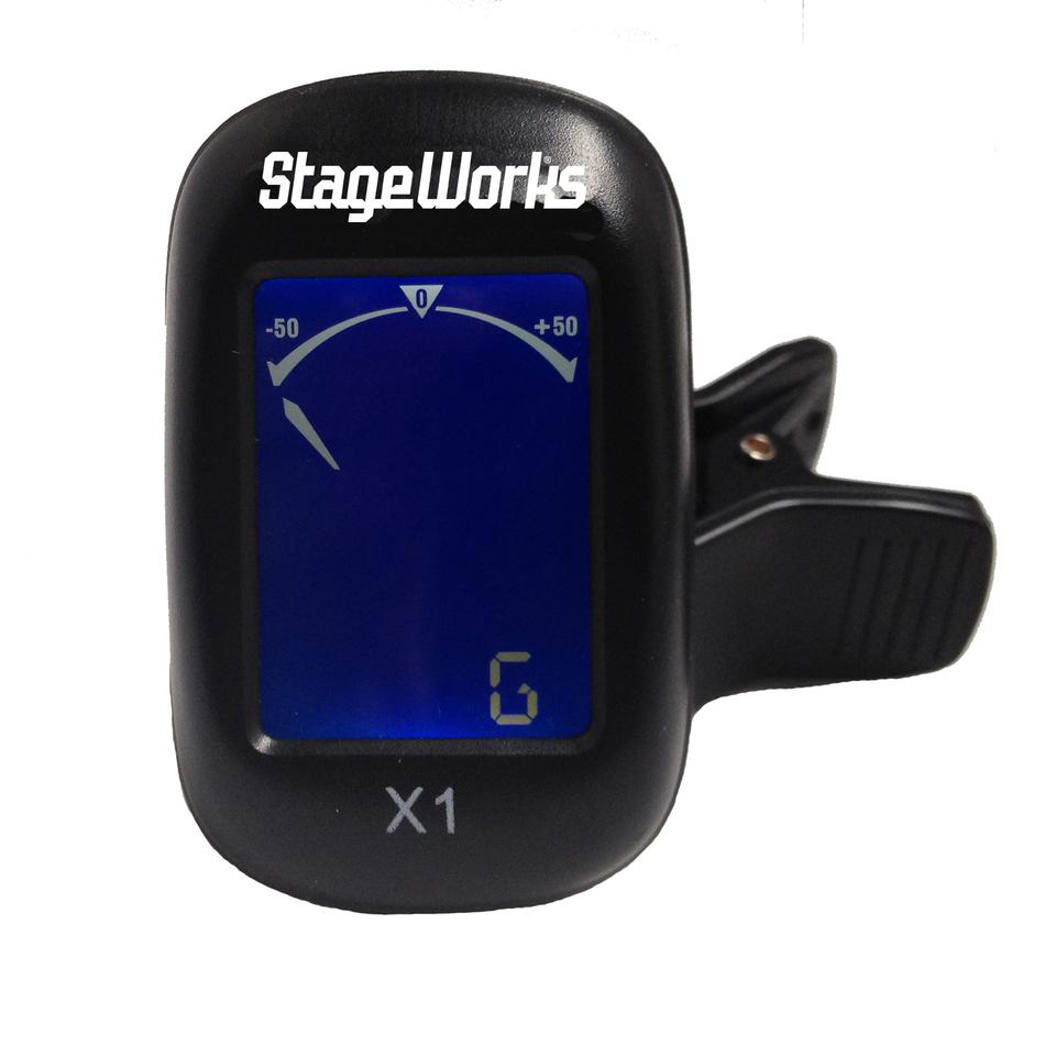 Universal Clip-on Tuner - StageWorks