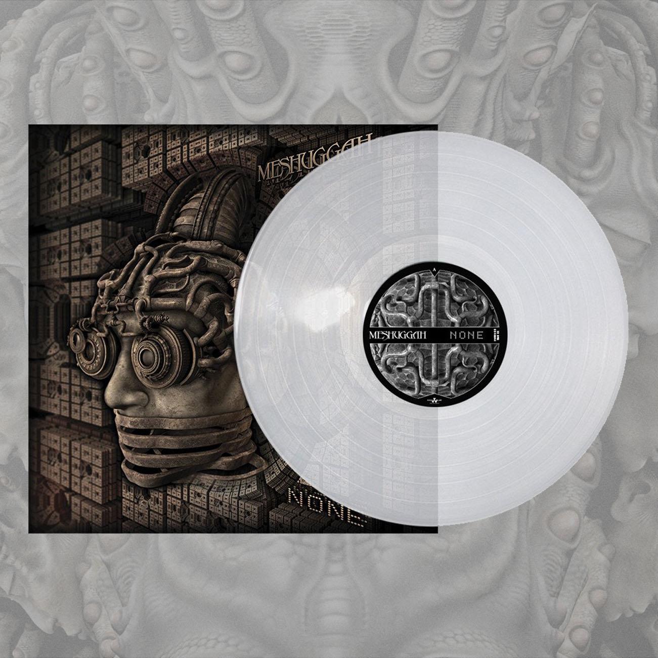 Meshuggah - 'None' Clear LP - Meshuggah