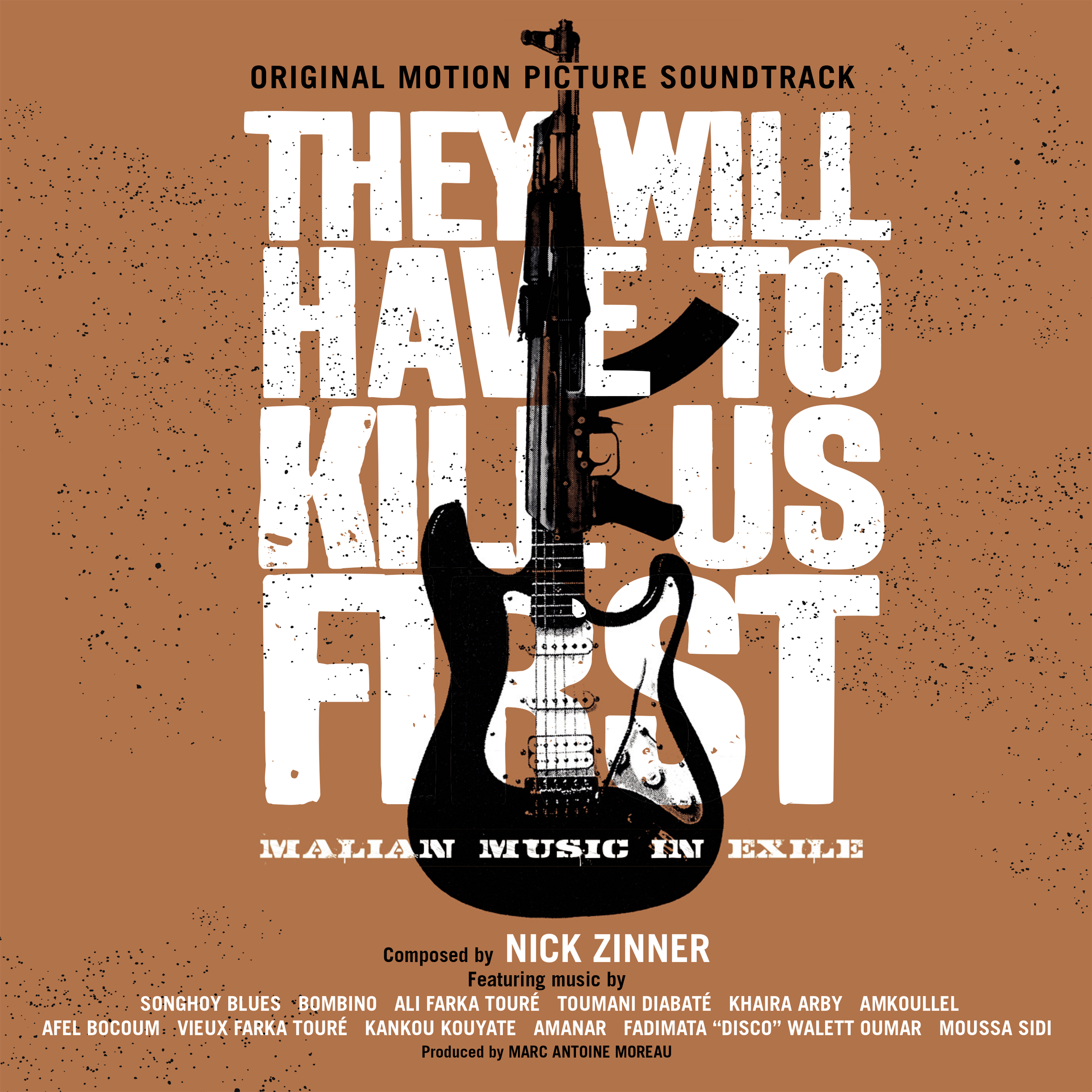 They Will Have To Kill Us First OST. CD - They Will Have To Kill Us First