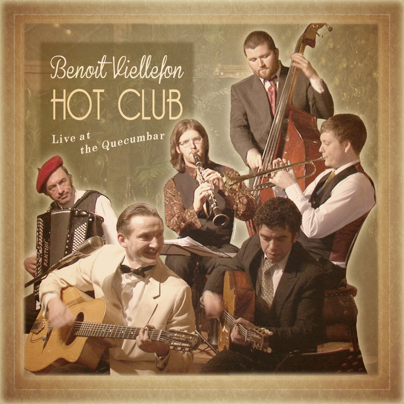 "The Hot Club - ""Live at the Quecumbar"" (Album Download) - Benoit Viellefon"