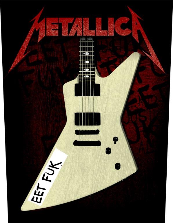 EET FUK – Back Patch - Metallica
