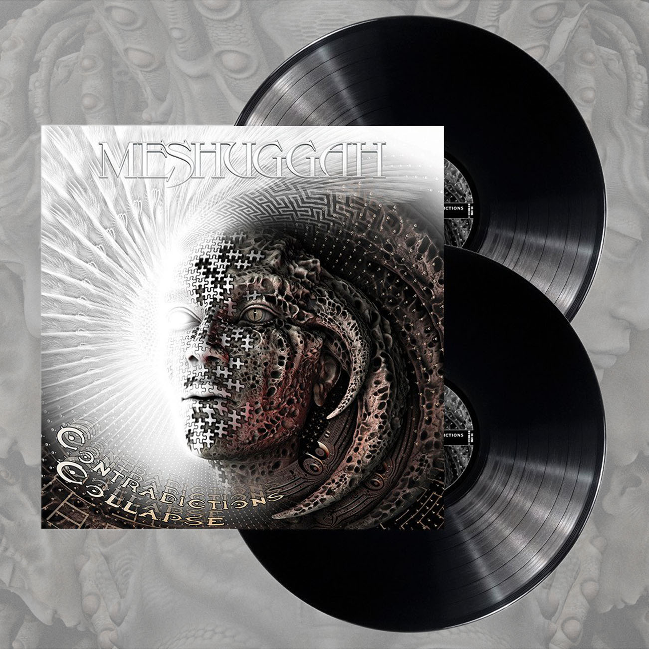 Meshuggah - 'Contradictions Collapse' Black 2LP - Meshuggah