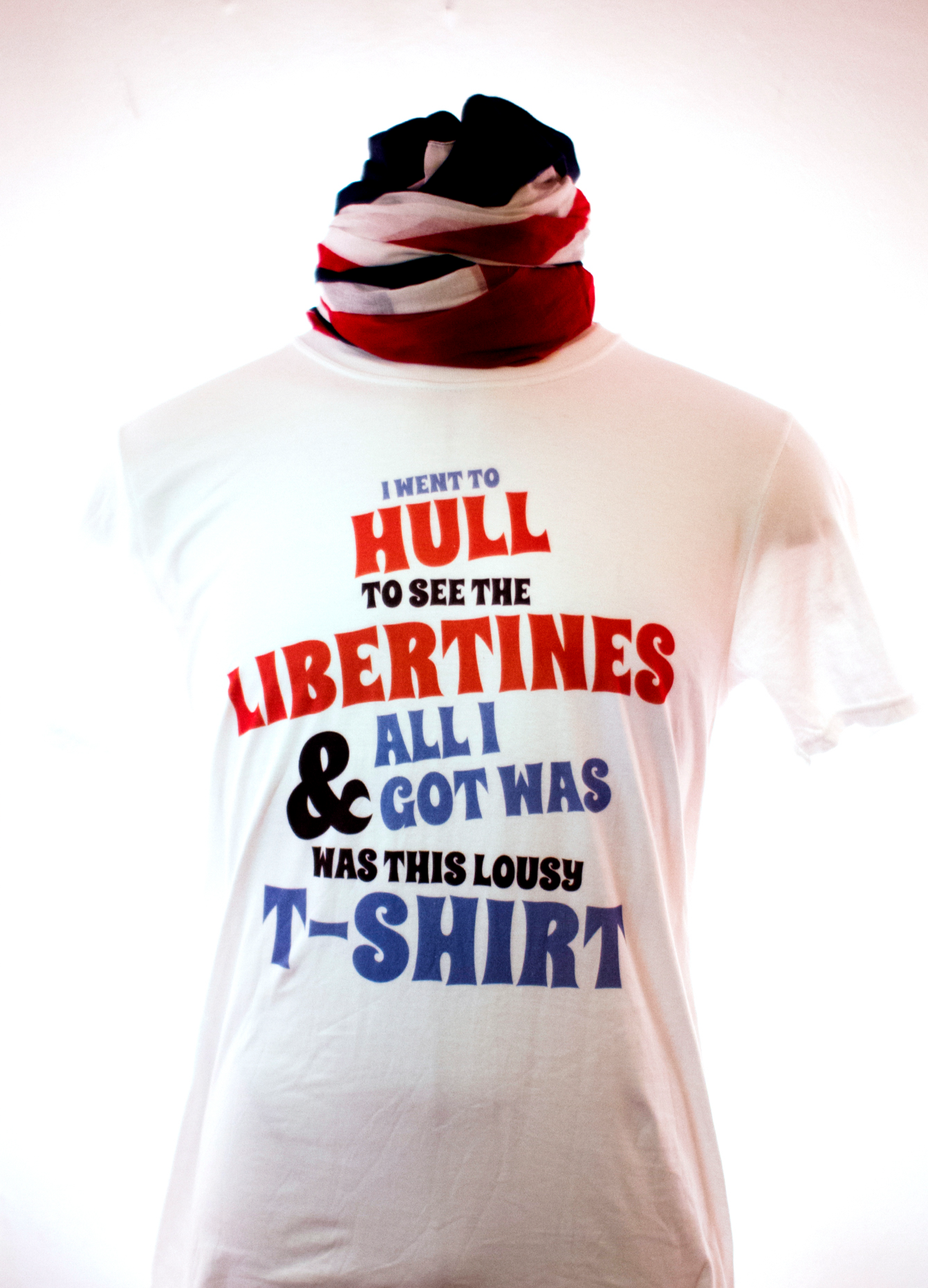I Went to Hull T-Shirt (SALE) - The Libertines
