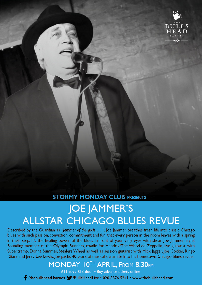 Stormy Monday Club Presents Joe Jammer's All-star Chicago Blues Revue
