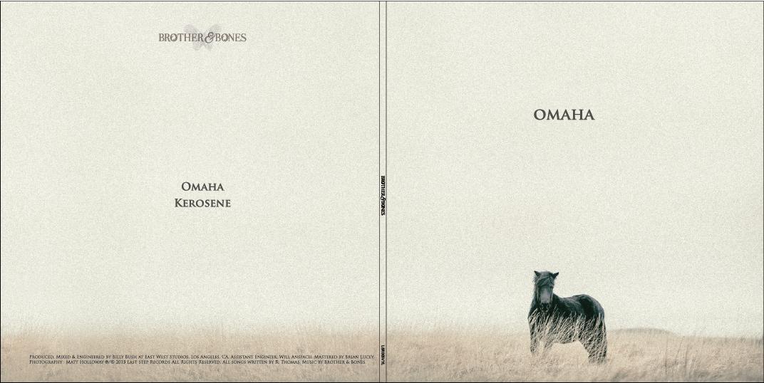 "'Omaha' // 'Kerosene' 7"" Vinyl - Brother & Bones"