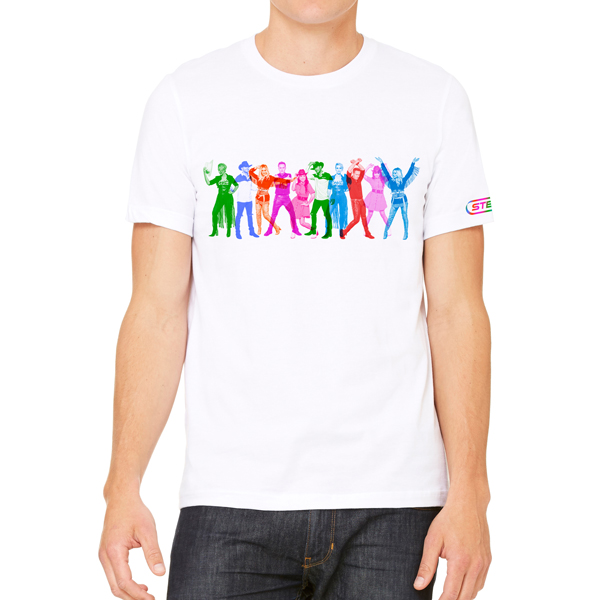 Steps Rainbow Cowboy T-Shirt - Steps [Global UK]