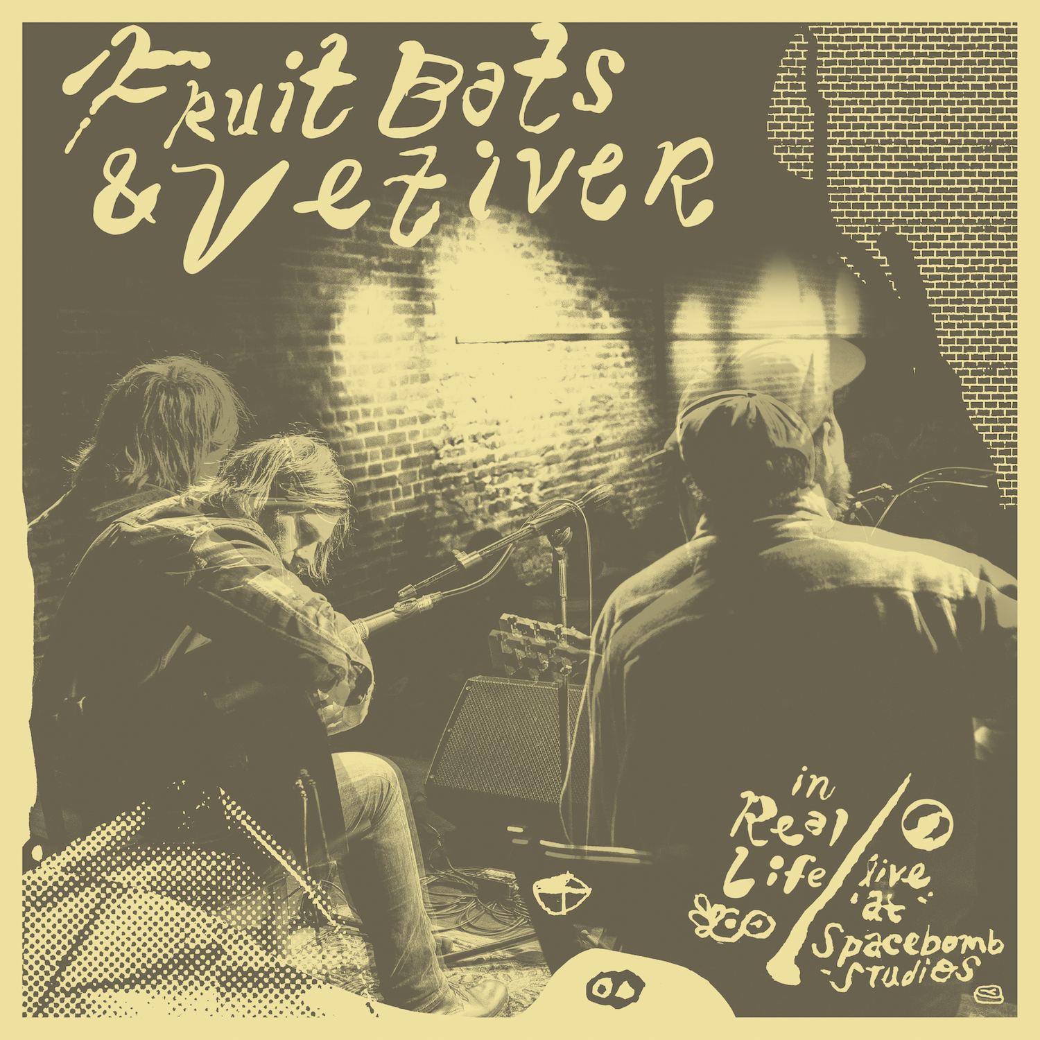 Fruit Bats & Vetiver – 'In Real Life (Live at Spacebomb Studios)' – Digital Download - Spacebomb Records