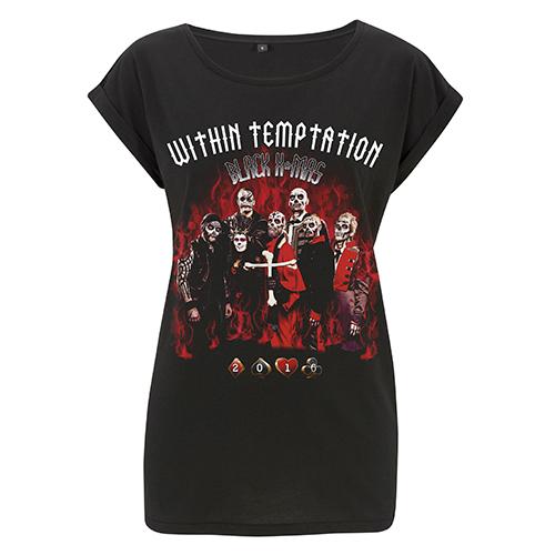 Black Xmas 2016 – Girls Roll Sleeve Tee - Within Temptation
