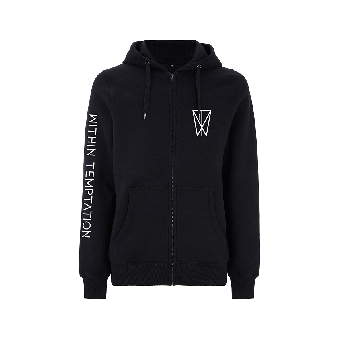 Resist Mars - Black Zip Hood - Within Temptation