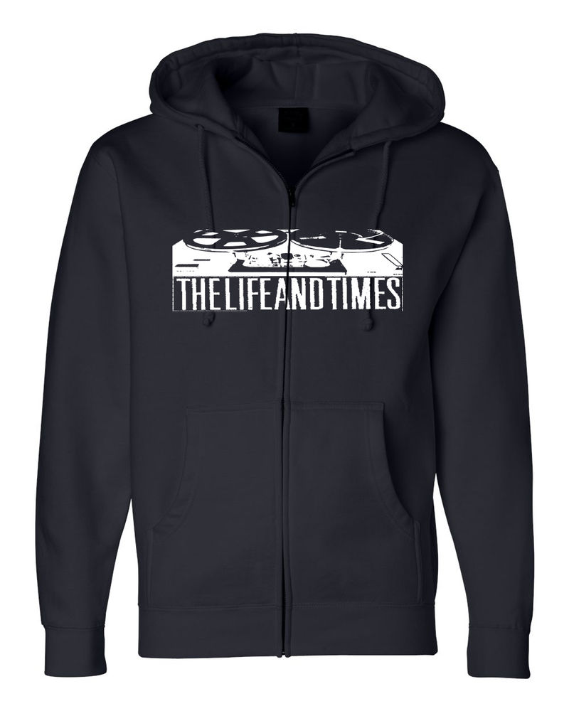 Reels Zip Hoodie - The Life and Times