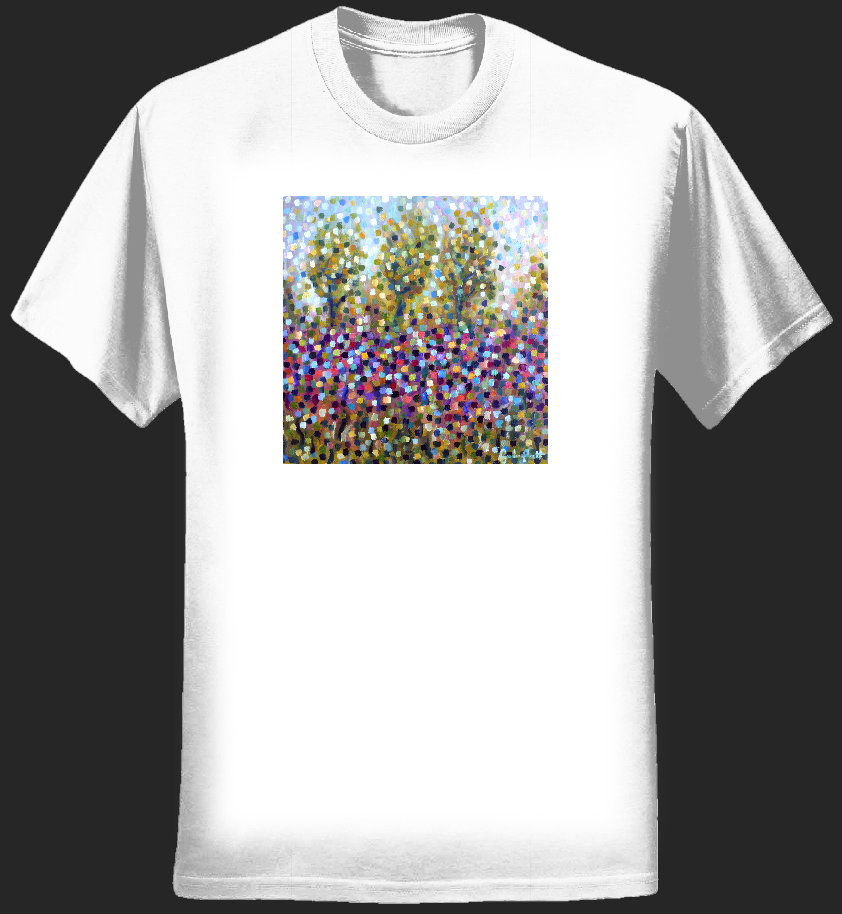 In The Winter T-shirt (men) - Greenness