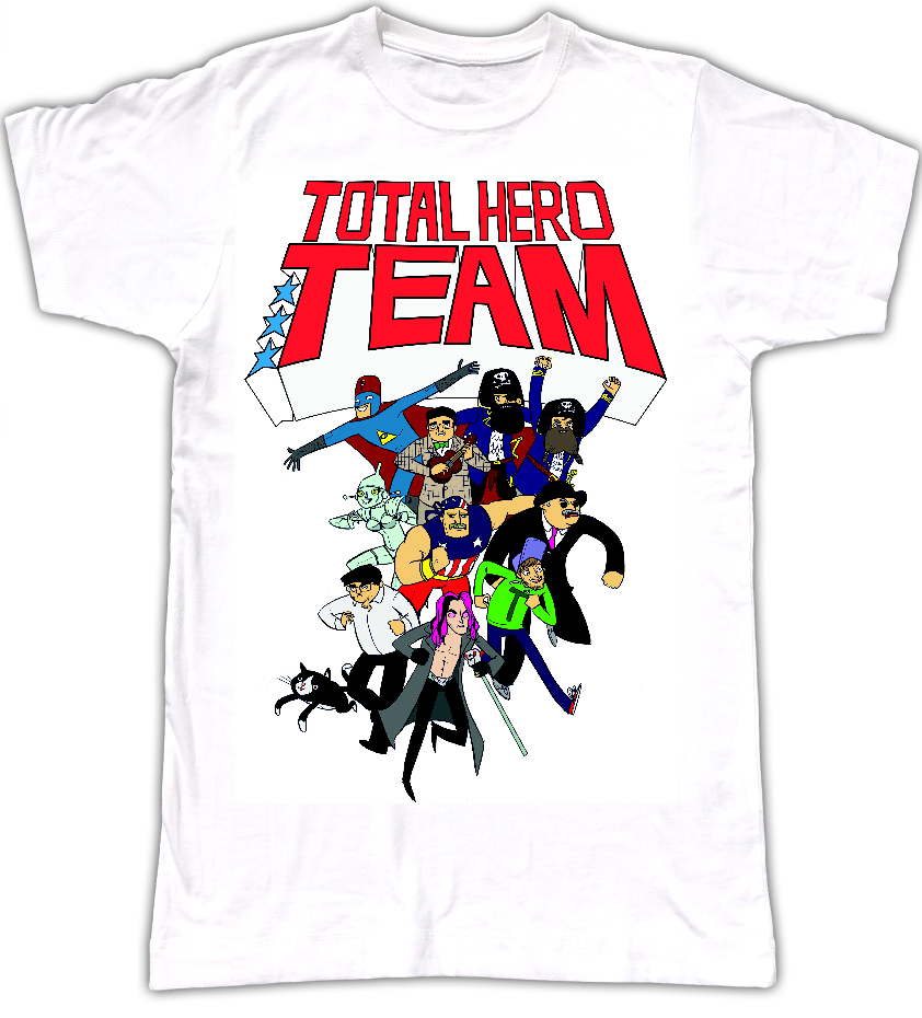 Total Hero Team T-Shirt (WOMEN) - MJ Hibbett
