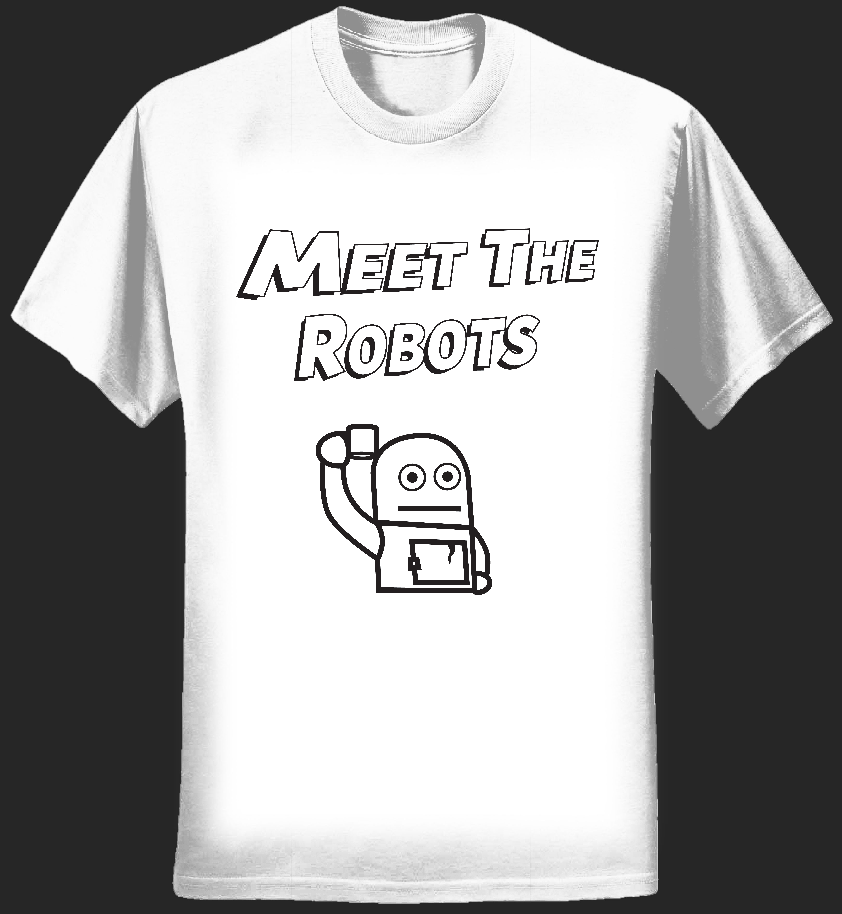 Robert 500 T-Shirt (Mens) - Meet The Robots